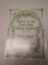 March of the Cute Little Wood Sprites Sheet Music P.D.Q Bach Musical #37B164