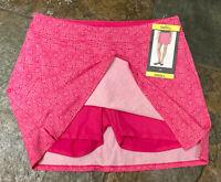 0421 TRANQUILITY Small PINK Celtic Design Tennis Golf Skirt Skort NWT B