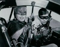 """Burt Ward Signed Autographed 8X10 Photo Batman """"Robin"""" in Cockpit w/ JSA"""