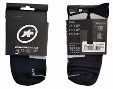 ASSOS Cycling Socks EQUIPE SOCK_G1 BLACK VOLKANGA