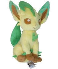Tomy Pokemon Leafeon Stuffed Plush Doll  Eeveelution Series Cute Gift