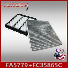 FA5779 FC35865C(CARBON) OEM QUALITY ENGINE & CABIN AIR FILTER: 2010-2013 FORTE