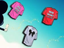 Disney T-Shirt Enamel Pin Pack ( 3 Pins )