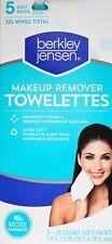 Berkley Jensen Face-Wipe Towelettes Make-Up Remover Botanic Fiber, 125 Count