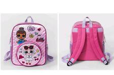 LOL SURPRISE! DOLL PINK BACKPACK Bag Bling Glitter Miss Baby Dolls NEW