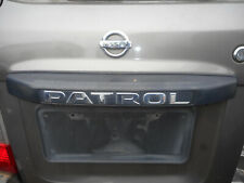 Nissan Patrol GU Barn Door Garnish