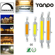 1X 10X 20X à Variation R7S LED Verre Tube Ampoule 7W 12W 15W 25W 78mm 118mm Hl