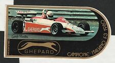 GHEPARD ITALIAN F3 TEAM 1980 GUIDO PARDINI ORIGINAL PERIOD STICKER ADESIVO RARE