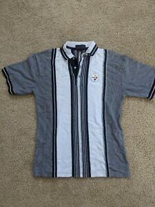 Pittsburgh Steelers Polo Shirt Adult Men's Medium