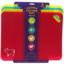 "4 x 15"" High Quality Flexible Cutting Mats Chopping Board Cutting Plastic Cut"