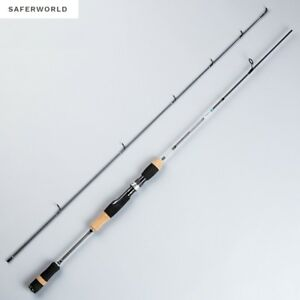 Fishing Pole Rod Carbon Fibers Tip Lure Ultra light Stick Spinning Metal Rings X