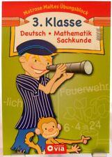 Matrose Maltes Übungsblock + Grundschule 3.Klasse + Deutsch Mathematik Sachkunde