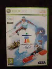 Juego xbox 360  VANCOUVER 2010