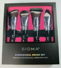 Sigma Dimensional Brush Set 4 Pieces Foundation, Concealer, Highlight, Contour