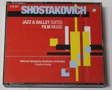 Shostakovich: Jazz & Ballet Suites Film Music Kuchar (3 CDs)Orchestra of Ukraine