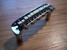 GENUINE FENDER Mustang Guitar Bridge VINTAGE STYLE With Mounting Cups ~ NEW ~