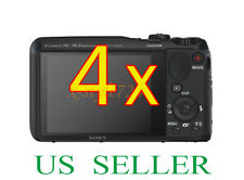 4x Sony CyberShot DSC-HX20V Clear LCD Screen Protector Guard Film