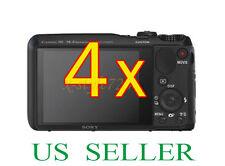 4x Sony CyberShot DSC-HX20V Clear LCD Screen Protector Guard Film