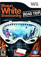 Shaun White Snowboarding Road Trip Nintendo Wii kids sports game Wii U