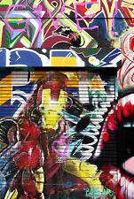 street art transformer alley A1 SIZE PRINT CANVAS QUALITY