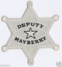 ANDY GRIFFITH MAYBERRY DEPUTY BADGE PATCH  - MAY10
