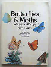 BUTTERFLIES AND MOTHS 1982 1st ed David Carter Pan in Britain & Europe large PB