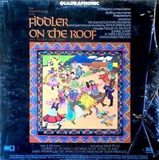 FIDDLER ON THE ROOF - GREAT HIT SONGS FROM - CAPITOL - QUAD LP - IN SHRINK WRAP