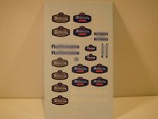 """DECALS 1/43 TABAC """" ROTHMANS """" - VIRAGES T14"""