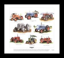 Tractors Nuffield David Brown Fordson Ferguson Print