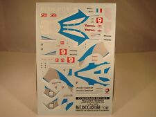 DECALS 1/43 PEUGEOT 908 HDI #9 VAINQUEUR LE MANS 2009  - COLORADO  43186