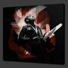 RE DI LEON ANTHONY MUSIC ARTE DA PARETE IMMAGINE STAMPA SU TELA 30.5cmx30.5cm