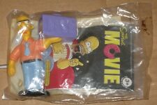 2007 The Simpsons Movie Burger King Kids Meal Toy - Russ Cargill