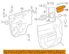 Chevrolet GM OEM 06-08 HHR Front Door-Cup Left 22736350