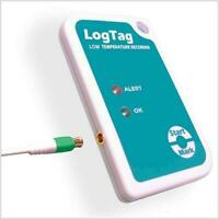 LogTag TREL-8 Dry Ice Low Temperature Recorder with External Probe