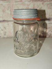 Vintage Clear Drey Perfect Mason Jar ~ Pint