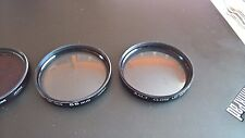 lot of 4 (four) Kalt Close Up #1,2,4 and FD-L 55mm Lens Filters Made in Japan