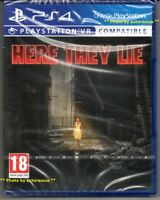 HERE THEY LIE VR   'New & Sealed'  *PS4(Four)*