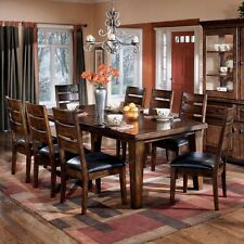 Dining Table Set For 8 Chairs Living Room Furniture Indoor Extendable Wooden New
