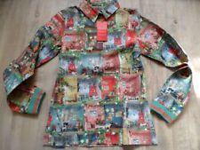 OILILY schöne bunte Bluse BILLY Puppenhaus Gr. 152  NEU ST817