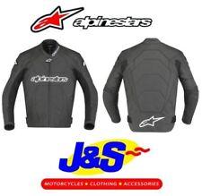 Blousons Alpinestars en cuir coude pour motocyclette