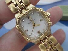 Maurice Lacroix CALYPSO Damenuhr Diamanten Quarz Vergoldet 75568 Neu ohne Pass