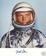 JOHN GLENN SIGNED 8x10 PHOTO 1 - NASA MERCURY ASTRONAUT -  UACC RD AUTOGRAPH