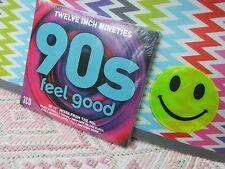 "3xCD New 2017 ""Twelve Inch Nineties/90s Feel Good"" FREEPOST 30x 12"" Mixes+STEPS"