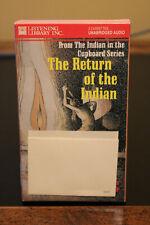 The Return of The Indian Book On Cassette Tape Lynne Reid Banks Rare