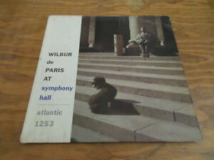 Wilbur de Paris at Symphony Hall / Record with Sleeve / Free Domestic Shipping