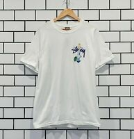 STUSSY PSYCHEDELIC TEE WHITE