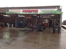 SCRAPCO TYRE SERVICES PADDOCK WOOD KENT AND WHOLESALE TO OTHER TYRE SHOPS