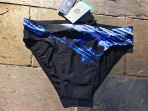 """Arena 'second skin' men's swimwear brief, multi-colour, sizes 34"""", 36"""" & 38"""""""