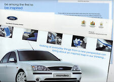 Mondeo 2000c 12 page Brochure (Mailer Pack) Excellent Condition