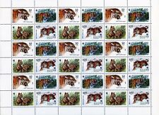 1993. Russia. Wwf. The Ussuri Tiger. Sheet/Pane. Mnh